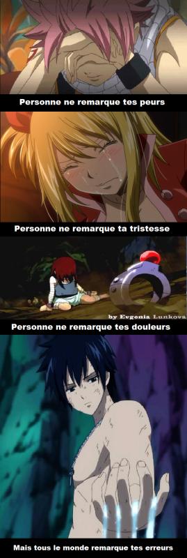 La souffrance de Fairy Tail
