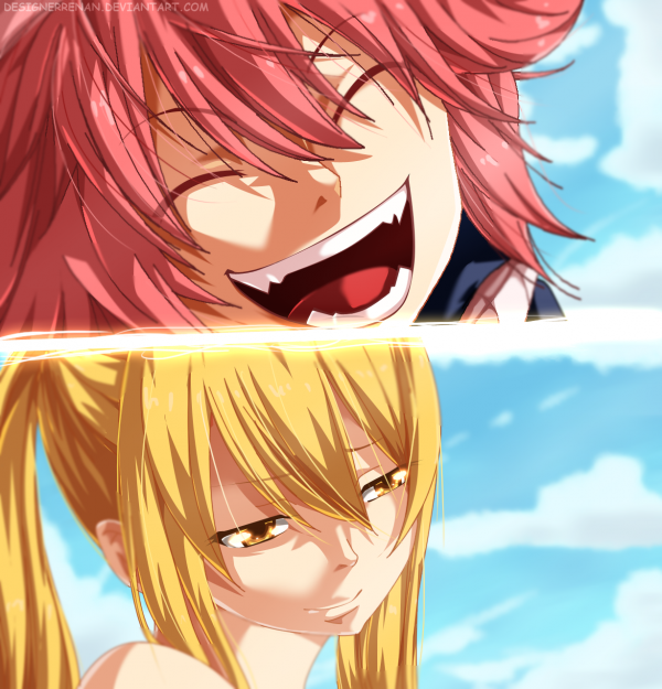 Le temps passe (encore) dans Fairy Tail: Natsu et Lucy