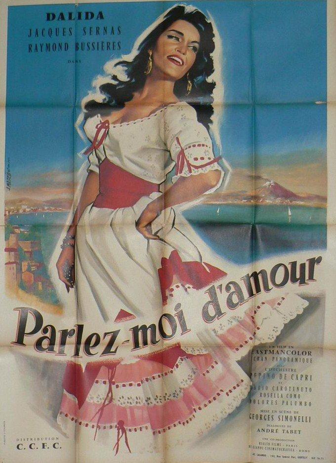 Dalida - Parlez moi d'amour - 1961