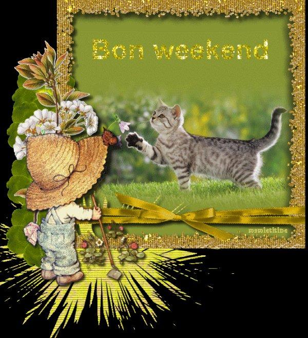 UN TRES BON WEEK-END A TOUT LE MONDE! BISES AMICALES ET A LUNDI!