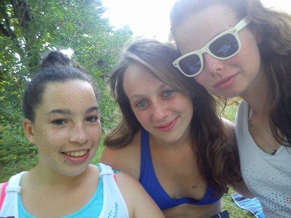 début du mois de juillet apres la piscine :)