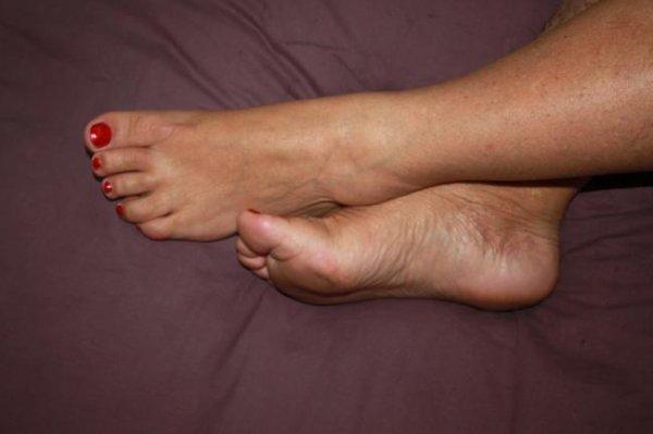 jolis pieds mature