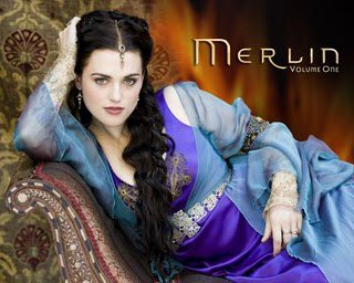 Morgane/Morgana + Katie McGrath.