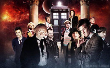 The Doctor + Christopher Eccleston, David Tennant & Matt Smith