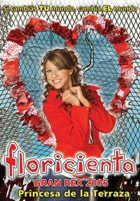 Affiche du Spectacle de Floricienta Gran Rex 2005.