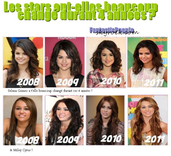 Les  Stars  ont-elles  beaucoup  changée ?