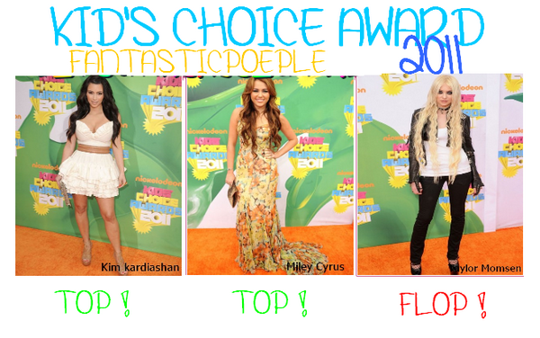Kids' Choice Award 2011 !