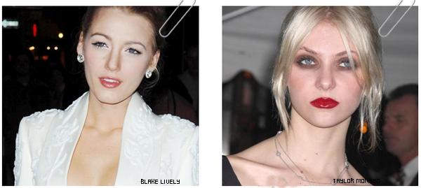 Ah la la , quand les stars ratent leur maquillage, ça donne ça ... !