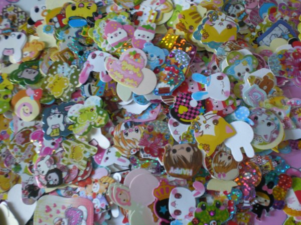 Lot de Stickers Kawaii
