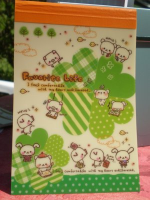 Bloc Note kawaii (A6)