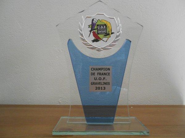 Ma CHAMPIONNE DE FRANCE 2013