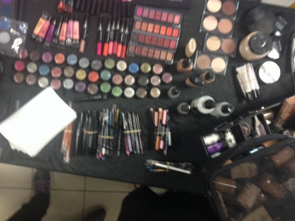 Demo de maquillage