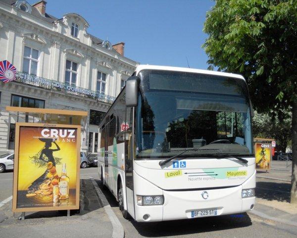 Irisbus Crossway 10m60 CG53 Ligne Express Laval <=>Mayenne (Kéolis)