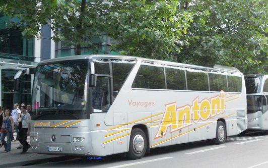 MB O 350 Tourismo  Antoni (67) à proximité du Stade de France