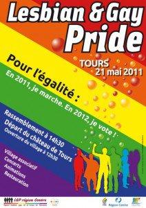 Gay pride de Tours 21 mai 2011