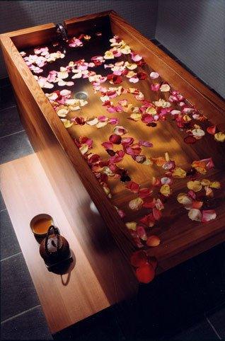 Le rituel du bain