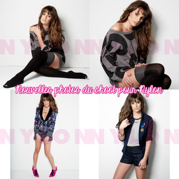 20/08: Lea Michele à Los Angeles + New pics pour Nylon