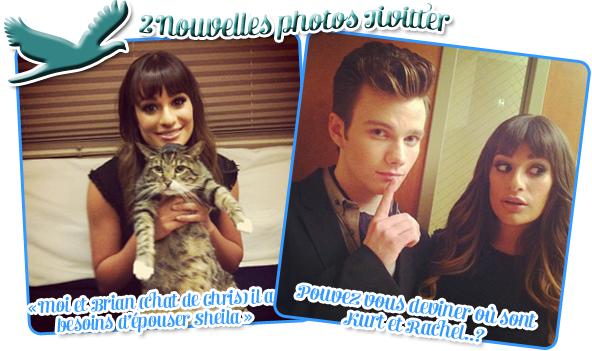 2 new photos Twitter + photo promo et stills du 4*03 + chansons officielles et part d'audience