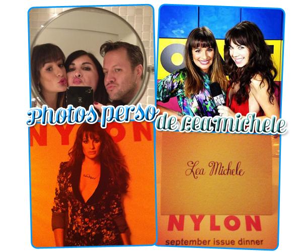 15/09: Lea a Beverly Hills avec sa cousine puis à la soirée du magasine Nylon