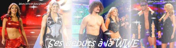 Ses débuts à la WWE