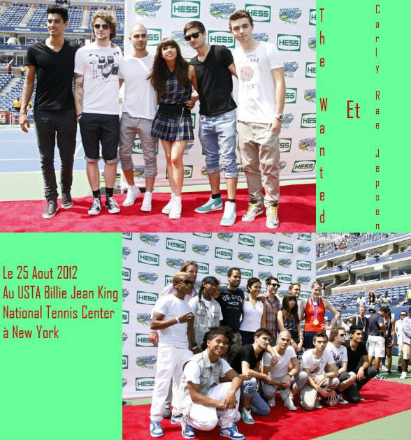 Carly Rae Jepsen & The Wanted