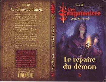 Le repaire du démon (les Sanguinaires T10) -Sean Mc Farrel
