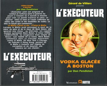 Vodka glacée à Boston (l'Exécuteur T278)-Don Pendleton