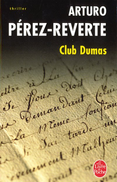 Club Dumas-Arturo  Perez-Reverte