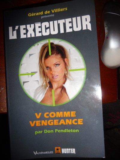V comme Vengeance (l'Exécuteur T282) -Don Pendleton