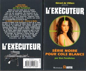 Série Noire pour Cols Blancs (l'Exécuteur T289) -Don Pendleton
