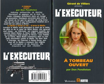 A Tombeau Ouvert (l'Exécuteur T290) -Don Pendleton