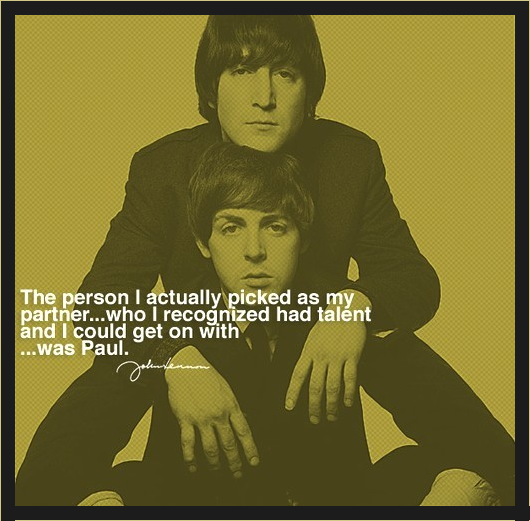 * John Lennon & Paul McCartney   *