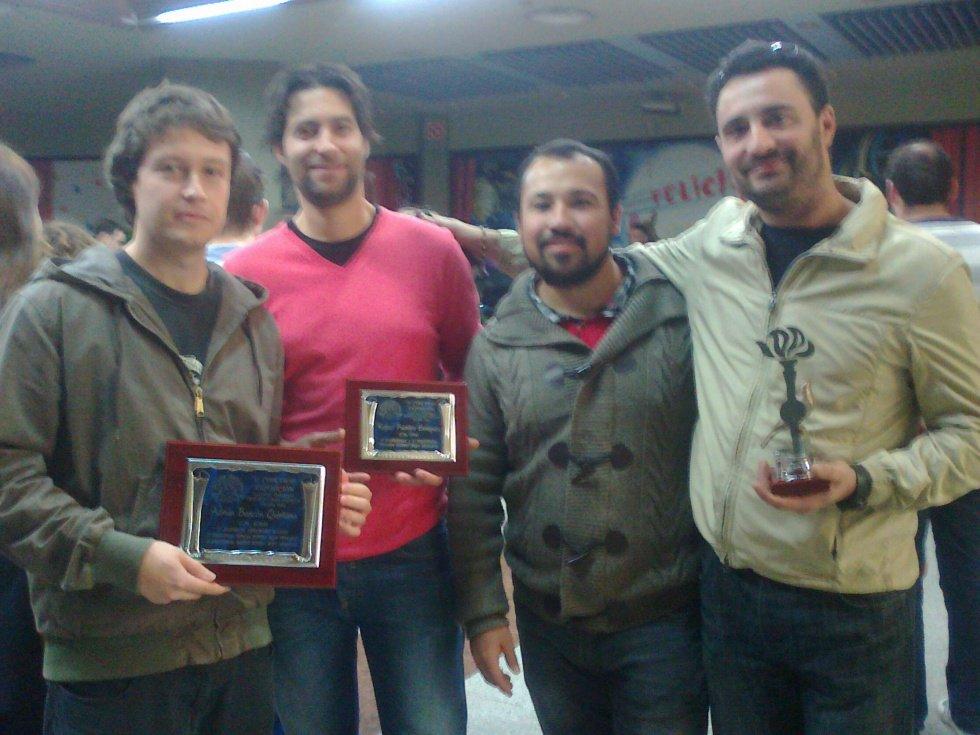 Recogida de premios Mezquita
