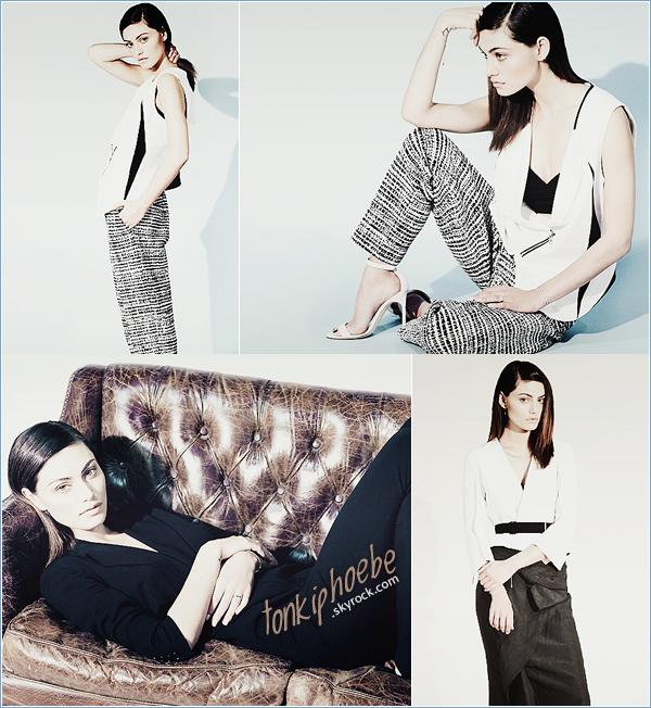 . PHOTOSHOOTI: Photoshoot de Phoebe pour le magazinewhowhatwear.com .