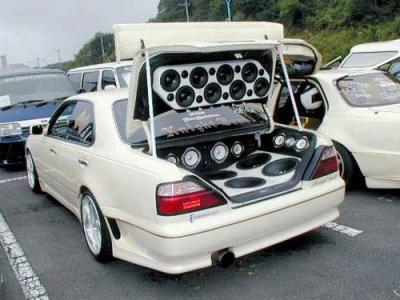 voiture de tuning