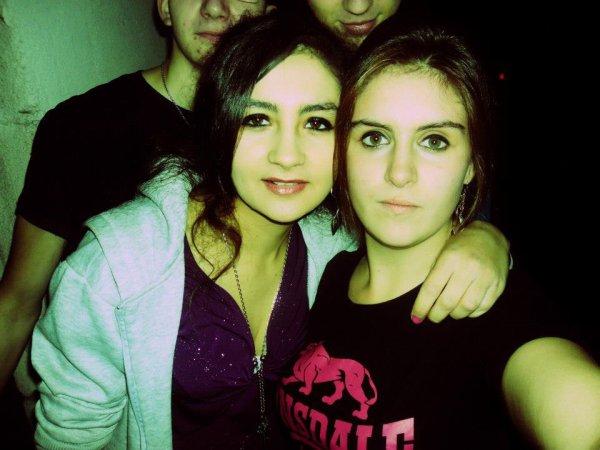 ma belle soeur et moi :) <3