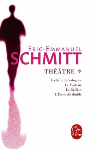 Théatre d'Eric-Emmanuel Schmitt