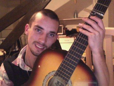 moi et ma guitard
