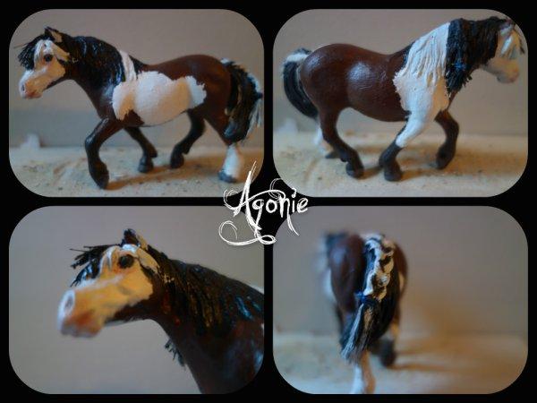nouveau custom: Agonie