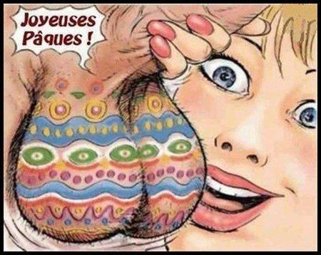 Joyeuses Pâques à tous   ^^