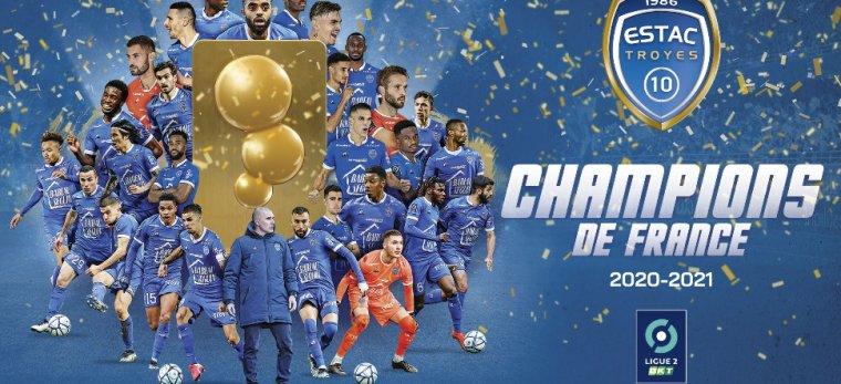 Bravo à l'équipe locale qui monte en Ligue 1 ⚽