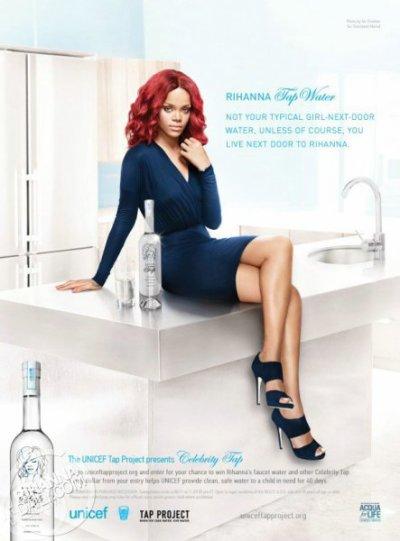 Rihanna donne soif aux hommes et aux commères