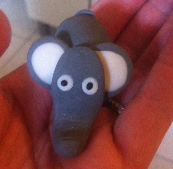 """""""Boudha"""" si si..... Bon façon simple et un éléphant"""