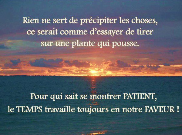 bon demain on recommence ...
