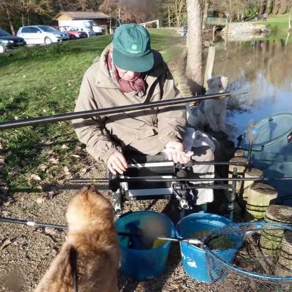 leçon de pêche pour ilti par momo