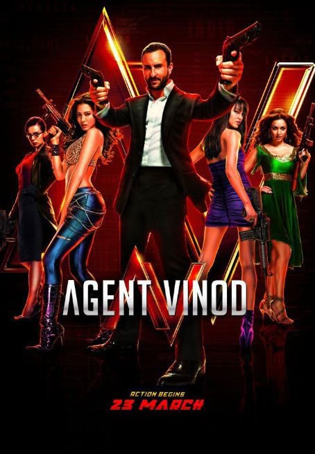 NEW MOVIE FILM     -----AGENT VINOD----