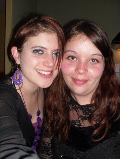 nouvel an normandie (31.12.2010) ac ma belle soeur