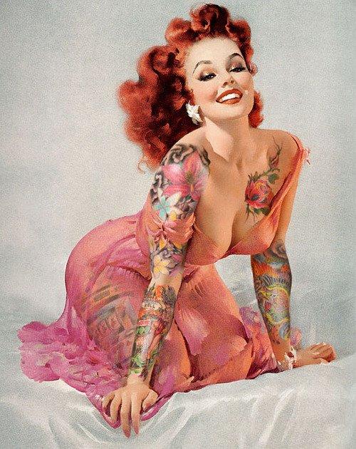 Le tatouage j'aime ça et j'en ferais mon métier. ♥
