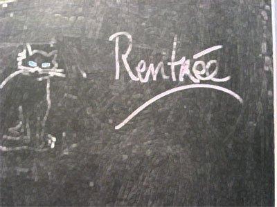 Chapitre 1 --> Rentrée