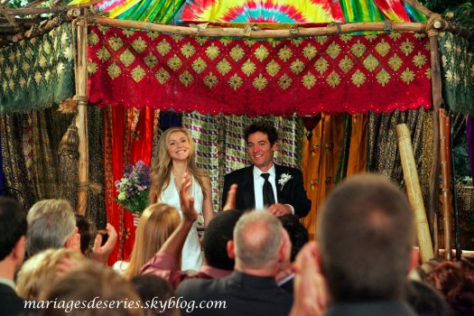 Ted Mosby (Josh Radnor) & Stella (Sarah Chalke)